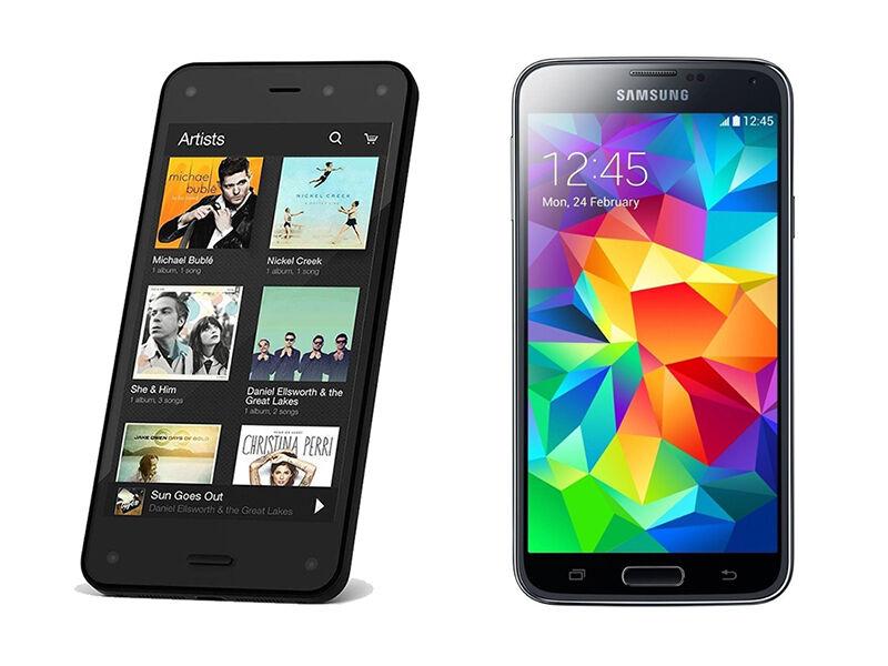 Amazon Fire Phone vs. Samsung Galaxy S5