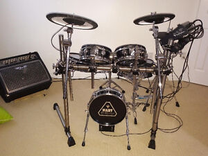 HART Professional Electronic Drum Kit wRoland brain and cymbals