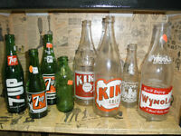 Collectible Beer and Pop Bottles