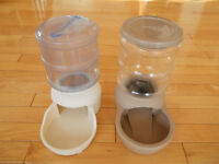 Water & Food Dispensors - for Cats or Small Dogs