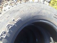 275 70 r18 mud and snow tires in good shape