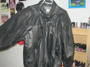 black leather jacket Butter leather