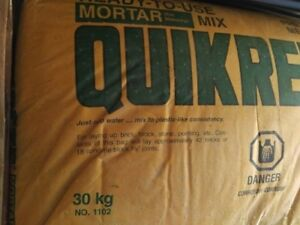 Ready to use Mortar Mix... Quikrete... 30 kg bags