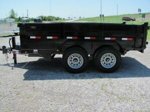 12 foot dump trailer/ dumpster rental
