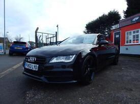 2013 Audi A7 3.0 TDI Quattro Black Ed 5dr S Tronic 1 former keeper,full histo...
