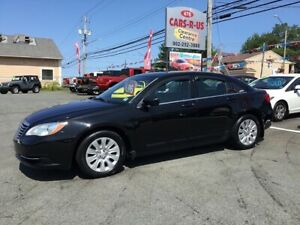 2012 Chrysler 200 LX    FREE 1 YEAR PREMIUM WARRANTY INCLUDED!