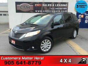 2014 Toyota Sienna XLE  AWD LEATH ROOF BLINDSPOT PWR-SLIDERS/GAT