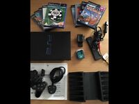 PlayStation 2 and games.