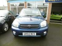 2004 Toyota Rav 4 2.0 XT3 3dr ESTATE Petrol Manual