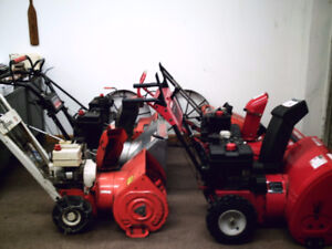 Selling some snowblowers 4-10HP, 20-28 inch: Prices negotiable