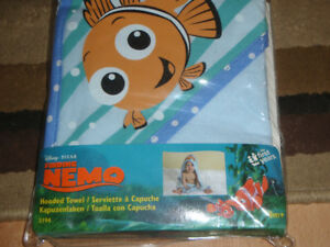 **Brand New** Disney Pixar Hooded Towel