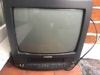 "Samsung Portable 14"" TV/VHS Video combination"