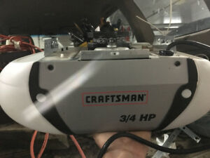 CRAFTSMAN AUTOMATIC GARAGE DOOR OPENER 3/4 HP