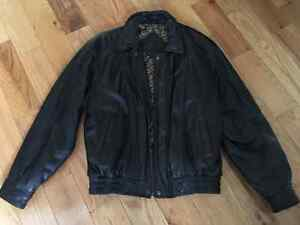 Moore's Men's Leather Jacket