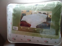 Twin Feather duvet and cover
