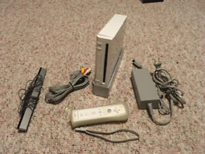 Wii Play Station and accessories