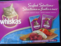 11 pouches of Seafood Selections (Whiskas)