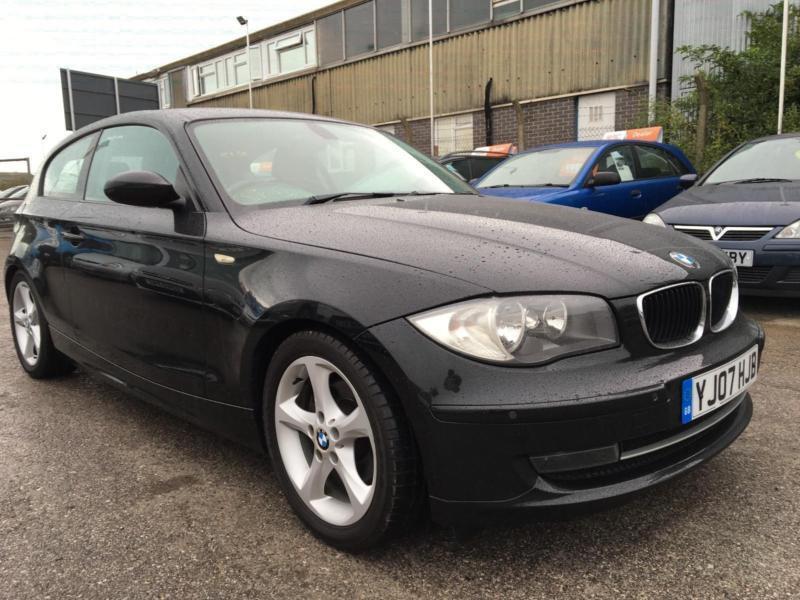 2007 BMW 1 Series 120 Hatch 3Dr 2.0i 170 SE 6 Petrol black Manual
