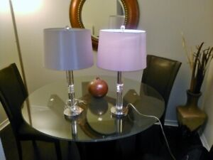 Two beautiful table lamps for sale!