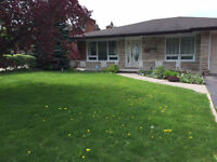 Bungalow with In-law Suite in a Great Family Neighbourhood
