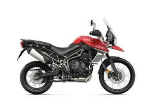 2019 Triumph Tiger 800 XCA Korosi Red