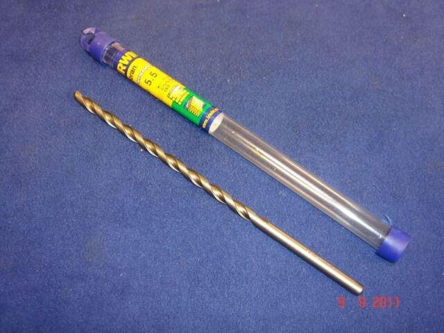 Irwin 160mm Long Carbide Tip Masonry Drill Bit 4mm 5mm 5.5mm 6mm 7mm 8mm