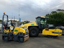 ROLLER HIRE DIY ranging from 3 - 15 tonne , smooth drums , pad foots , Condell Park Bankstown Area Preview