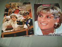 2 princess diana magazines 1961-1997