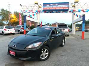 2012 8Mazda Mazda3 AUTOMATIC,CLEAN CARPROOF, GREAT CONDITIONS!!