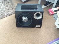 Speaker with sub box