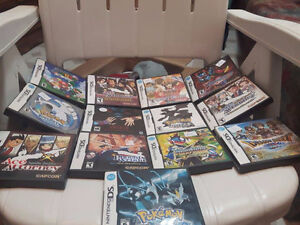 DS Lite + Games Pokemon Megaman Dragon quest Mario Harvest etc!