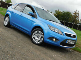 2009 FORD FOCUS 1.6 Titanium 5 DOOR**FSH**NEW MOT**£3195**