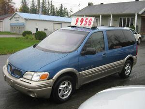 1999 Pontiac Transport SE  PETIT BUDGET !!!