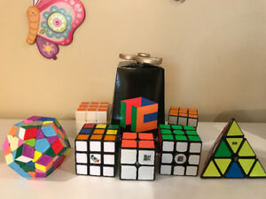 Rubiks Cube - Cubicle.us cubes, moyu's, and gans.