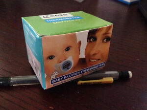 Baby Thermometer Pacifier CLEARANCE NEW