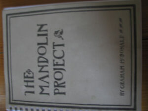 Book on making a mandolin,with templates