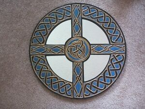Great Christmas Gift!  Celtic or Viking Wooden Shield-Mirror Kitchener / Waterloo Kitchener Area image 1