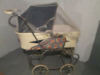 "Four season Carriage -Landau Quatre Saisons ""Stroll-R-Crib"" 1981"