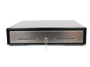 "Brand New 18"" POS Cash Drawer with Stainless Steel Front"