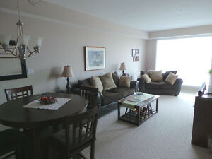 Exceptional furnished two bed suite -Fort Sask