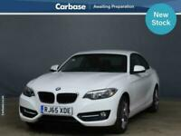 2015 BMW 2 Series 218i Sport 2dr COUPE Petrol Manual
