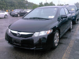 2009 HONDA CIVIC DX , AUTO, 127K ONLY / CERTIFIED