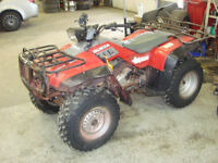 1986-1990 HONDA 350 TRX 4WD PARTING OUT NOT SELLIN WHOLE