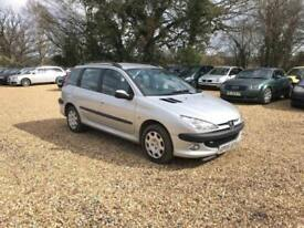 2005 Peugeot 206 SW 1.4HDi 12 Months MOT Service History