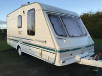 SWIFT ARCHWAY CARAVAN DENFORD 2 BERTH END WASH ROOM AWNING PX