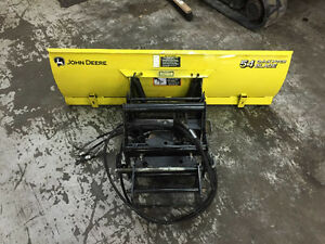 Lame avant John Deere Quick hitch 54''