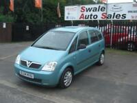 2004 04 VAUXHALL MERIVA 1.6 LIFE GREAT LITTLE FAMILY CAR