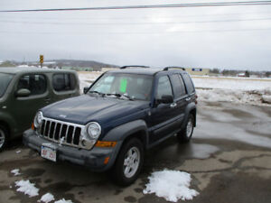 2005 Jeep Liberty SUV, Crossover 4X4