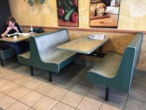 Restaurant Booths and tables etc