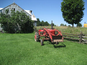 Farmall A with loader